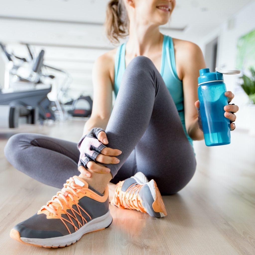 Как пить воду во время тренировки